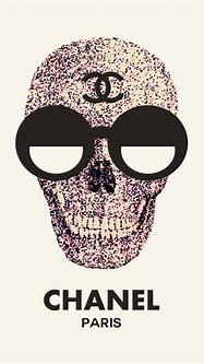 Chanel Skull by Film Mafia. | Free Printables | Pinterest ...