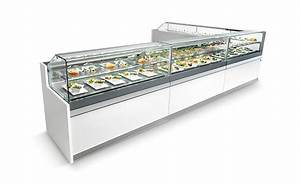 Bakery furnishings, refrigerated and praline display cases IFI