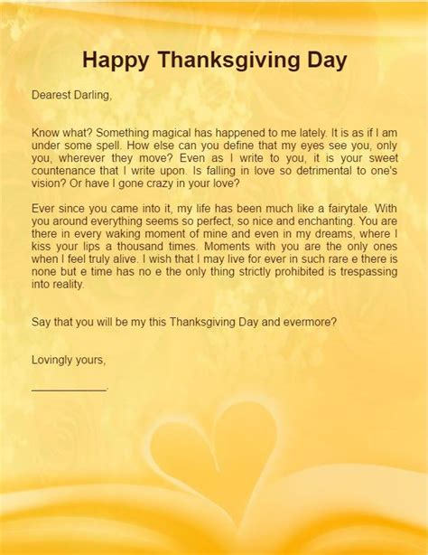 thank you letter to boyfriend thanksgiving letter for boyfriend husband happy 14190