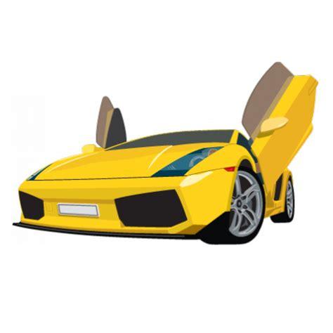 stickers voiture de course jaune stickers malin