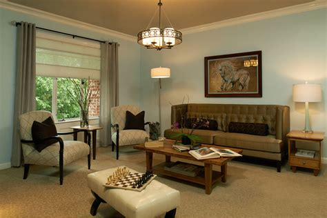 Living room ideas are designed to be an expression of their owner's personality and design sensibilities, and that's certainly the case with this regal design choice. Pasadena Showcase House for the Arts 2013: Upstairs Family ...