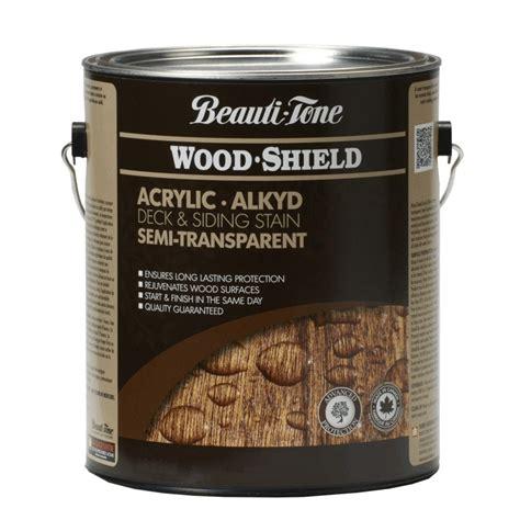 beauti tone wood shield  semi transparent walnut