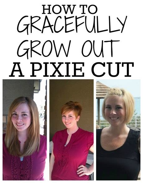 Hairstyles For Growing Out A Pixie Cut by Growing Out A Pixie Cut Stages