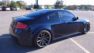Modded Infiniti G35 Coupe New Front And Suspension Update