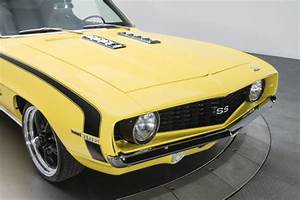1969 Chevrolet Camaro Ss 367 Miles Daytona Yellow Hardtop
