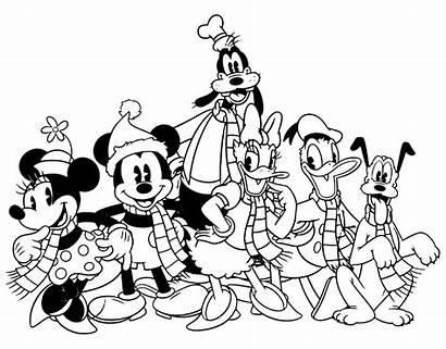 Coloring Mickey Disney Mouse Friends Classic Printable