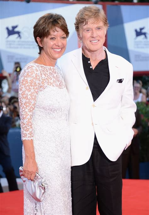 Robert Redford and Sibylle Szaggars   Celebrities Who Got ...