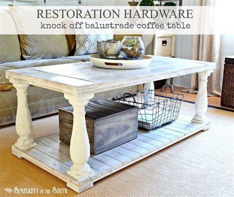 Restoration Hardware Aviator Desk Knock by Restoration Hardware Knock Balustrade Coffee Table