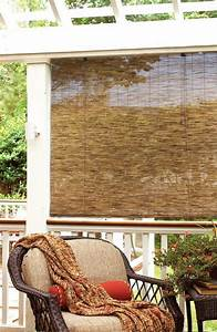 Destiny Outdoor Bamboo Shades For Patio Exteriors Blinds
