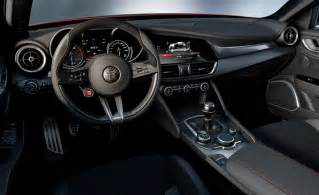 alfa romeo giulia shows interior gtspirit