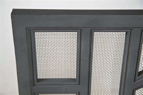 1030s Architectural Cast Iron Fireplace Screen At 1stdibs
