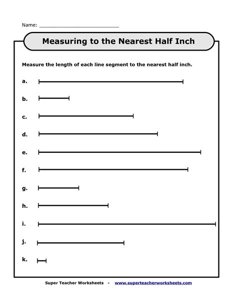 to inches worksheet measuring in inches worksheet worksheets for all