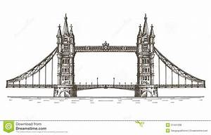 London Bridge Dessin : england london the bridge on a white background stock illustration illustration of city ~ Dode.kayakingforconservation.com Idées de Décoration