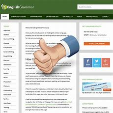 English Grammar  Your Guide To Errorfree Writing