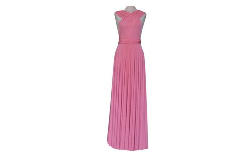 1 Coral Infinity Dress Long, Convertible Dresses For