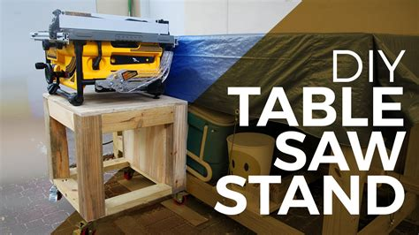 make a table saw table how to make a tablesaw stand youtube