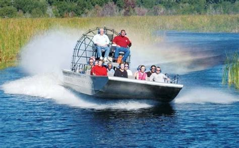 Big Boat With Fan by Ride A Fan Boat In The Everglades 50 Things To Do In The