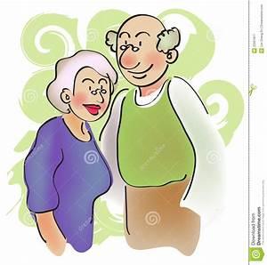 Grandparent stock illustration Image of sweet, illustration 22591811