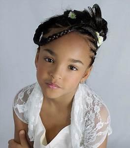 Coiffure Enfant Tresse : coiffure africaine pour enfants ~ Melissatoandfro.com Idées de Décoration