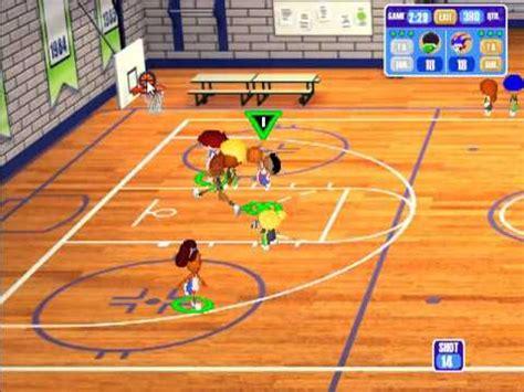 backyard basketball season playthrough game  court