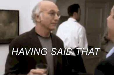 Larry David Meme - talking curb your enthusiasm gif find share on giphy