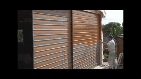 Painting A Garage Door Using