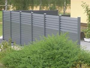 Panneau Brise Vue Composite : brise vue en composite maison design ~ Nature-et-papiers.com Idées de Décoration