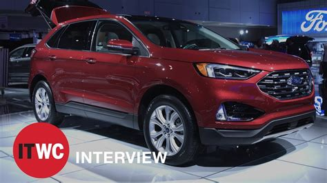 2019 Ford Suv 2019 ford edge is ford s smartest suv yet