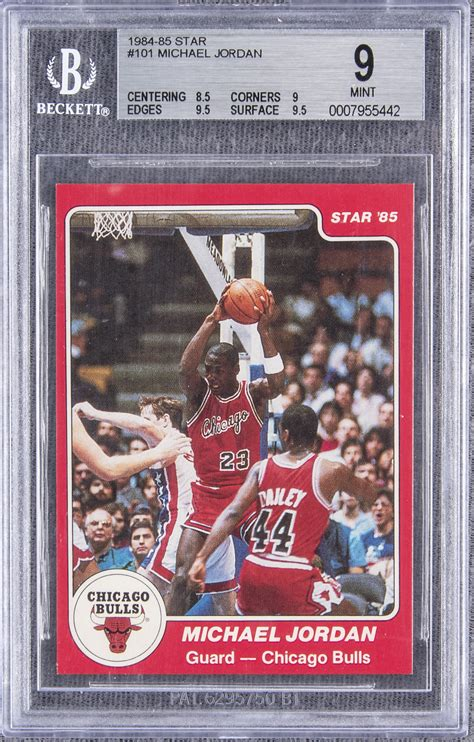 Get the best deal for michael jordan rookie basketball trading cards from the largest online selection at ebay.com. Lot Detail - 1984-85 Star #101 Michael Jordan Rookie Card - BGS MINT 9
