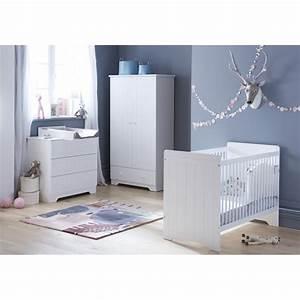 chambre bebe complete blanc scandinave With chambre bébé design avec chambre de culture complete