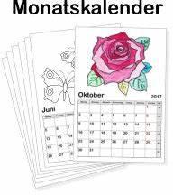 Kalender Selber Basteln : kinderkalender 2018 zum ausmalen online ausdrucken basteln ~ Lizthompson.info Haus und Dekorationen