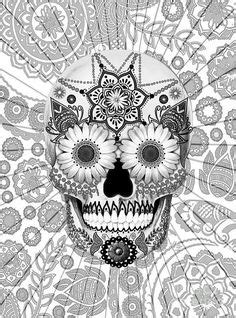 90 Best Skull Coloring Pages images | Skull coloring pages