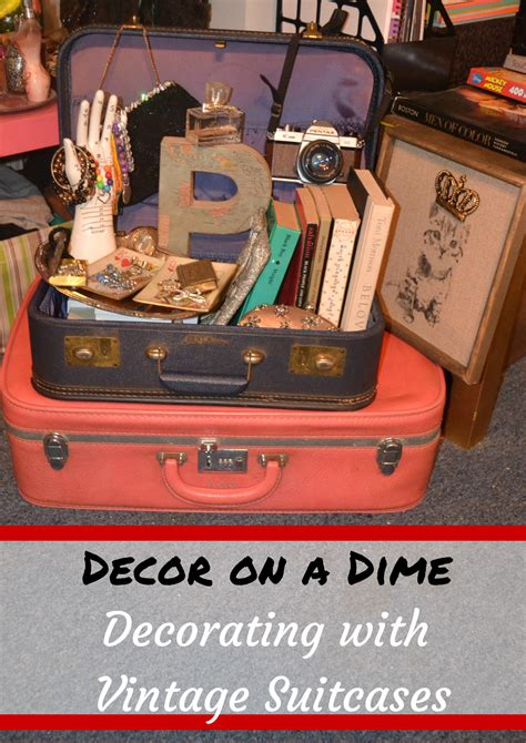 Decorating Ideas Using Suitcases by Diy Home Storage On A Budget Looking Fly On A Dime