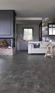 Dalle Pvc Clipsable Interieur : parquet flottant pvc clipsable gerflor decoration d 39 interieur idee ~ Melissatoandfro.com Idées de Décoration