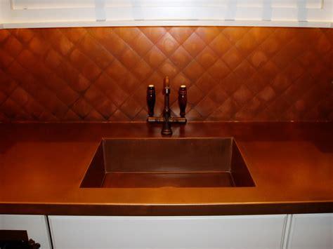 copper countertops hoods sinks ranges panels  brooks