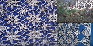Lace Curtain in Crochet Lace [Free Pattern & VIDEO