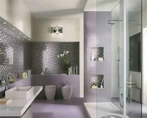 modele deco salle de bain moderne With modele salle de bain moderne
