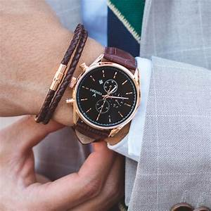 Men's Chronograph - Rose Gold Watch – Vincero Watches