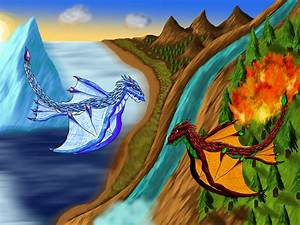 Image Gallery ice vs fire dragons