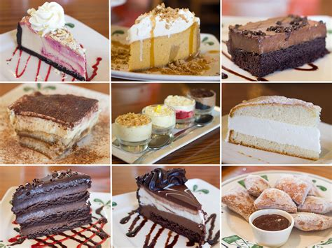 Prices shown in images & the. We Try All the Desserts at the Olive Garden   Serious Eats
