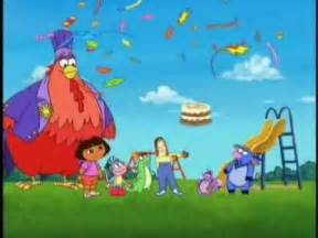 Dora the Explorer Whose Birthday Is It DVD