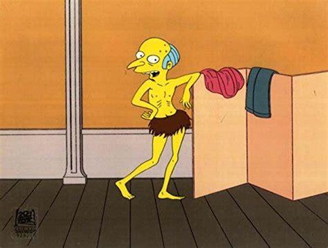 Original Mr. Burns art from The Simpsons cartoon - one of ...