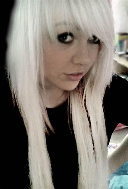Emo Scene Hairstyles Nique Michelle Blonde Hair