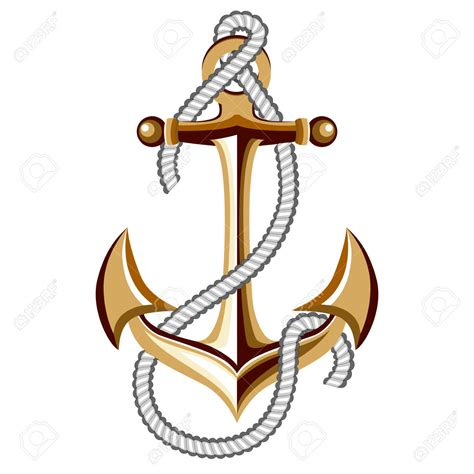 Boat Anchor Rope by Anchor Clipart Anchor Rope Pencil And In Color Anchor