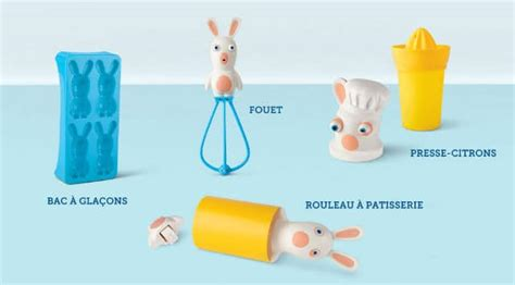 cuisine mcdonald jouet jouet mc donald 39 s meal lapins crétins en cuisine