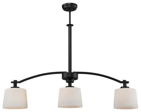 kitchen island light fixture arlington 3 light island fixture contemporary kitchen 5097