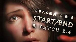 Season 5 Start Date, Season 4 End, Patch 2.4 Launch ...