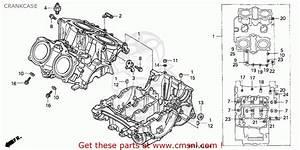 Honda Vf750c Magna 1994  R  Canada    Kmh Crankcase