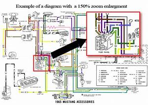 1965 Ford Mustang Colorized Wiring Diagrams Cd