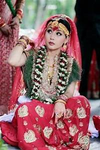 Nepali Bride...Pic shared from Arden The Beauty Point ...